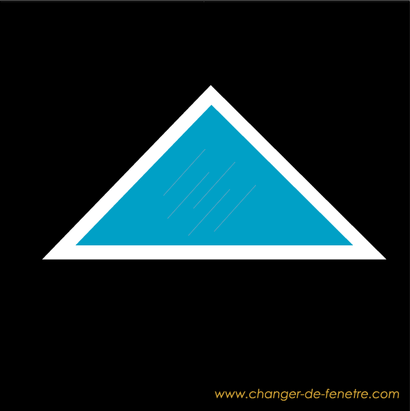 Fenêtre triangle